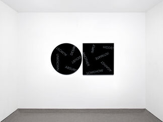 ONE WALL, ONE WORK: Robert Barry, installation view