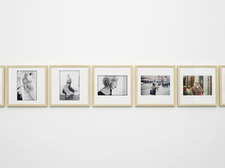 Julião Sarmento: 75 photographs, 35 women, 42 years, installation view