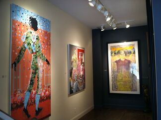 """""""Spring Fusion"""" to benefit The Retreat, """"Where Hope Begins and Violence Ends."""", installation view"""
