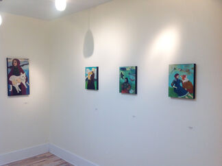 The Reunion of Night and Day, installation view