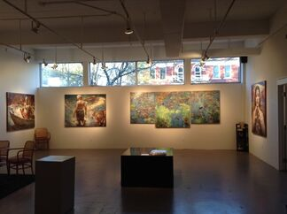 Dreaming of a Journey with Sunflowers, installation view