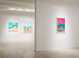 Daniel Heidkamp: Paper Cuts, installation view