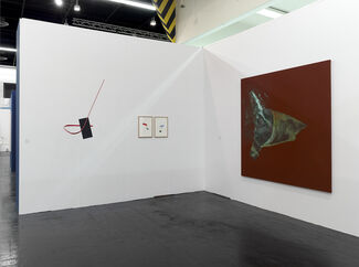 Galerie Christian Lethert at art cologne 2014, installation view