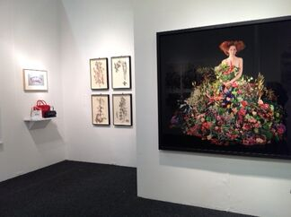 Nancy Hoffman Gallery at Art on Paper 2015, installation view