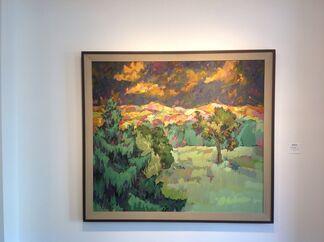 Easton Pribble (1917-2003), installation view