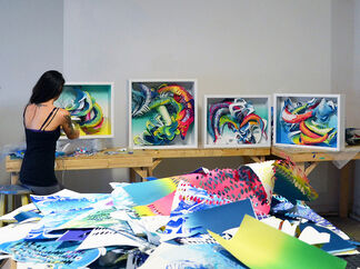 """Crystal Wagner: """"Synesthesia"""", installation view"""