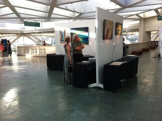 Aloha Expressionism Exhibit with the Hawaii Food & Wine Festival, installation view