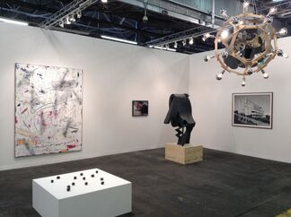 Sies + Höke at The Armory Show 2015, installation view