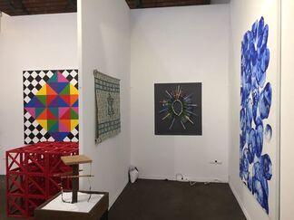 Baró Galeria at Art Brussels 2017, installation view