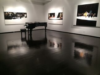 Silke Schoener: Theater and Orchestra Paintings, installation view