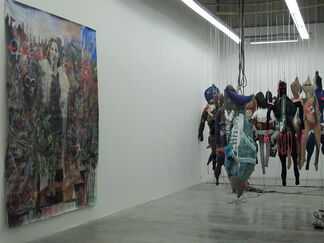 Eat when You Can, Sleep when You can, installation view
