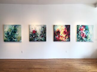 Yangyang Pan Solo Exhibition, installation view