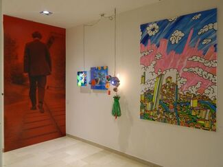 a visionary man_ENRICO T. DE PARIS 25 years of selected works, installation view