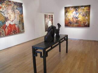 Hung Liu: Mid Autumn Moon, installation view