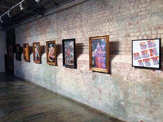 Ben Eine 'Your Not My Type', installation view