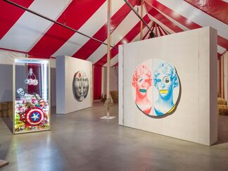 Kathryn Andrews - Circus Empire, installation view