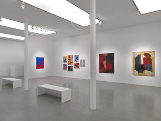 Serge Poliakoff: Silent Paintings, installation view
