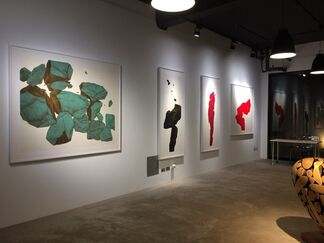In the Cleft of the Rock 岩石裂縫 Boo Sze Yang & Tay Bak Chiang Pontone Gallery Taiwan, installation view
