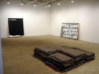 """Gardar Eide Einarsson - """"leashed or confined"""", installation view"""