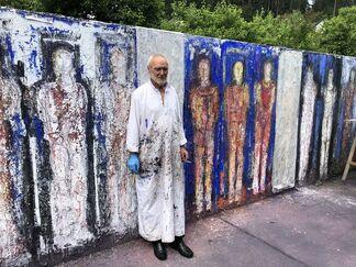 Valentin Oman - Ecce Homo, installation view