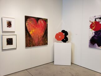 Jonathan Novak Contemporary Art at Art Miami 2018, installation view