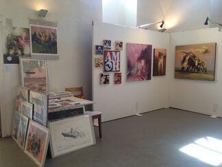Galerie SOON at Stroke Art Fair 2015, installation view