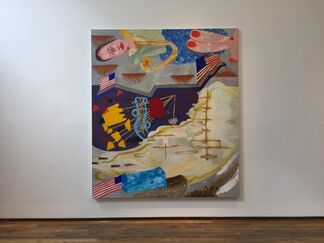 Charles Garbedian, Harlow's Back!, installation view