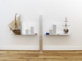 DAVID JABLONOWSKI: Trade Alert, installation view