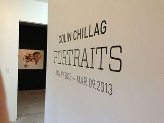 Colin Chillag: Portraits, installation view