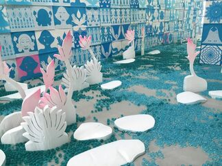 """Yun Suknam """"This is not a coincidence but meant to be"""", installation view"""