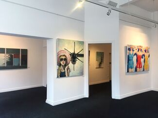 THREE POSITIONS, installation view
