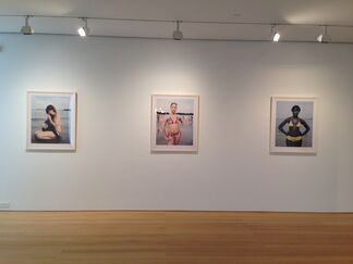 Images of Venus from Wayne Lawrence's Orchard Beach: The Bronx Riviera, installation view