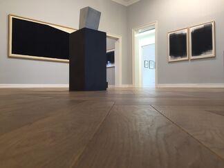 Joachim Bandau - Richard Serra - Jens Trimpin, installation view