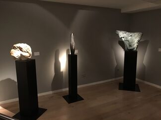 Emily Young at Bowman Sculpture, installation view