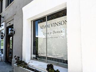 """Adam Vinson - """"Song & Dance"""", installation view"""