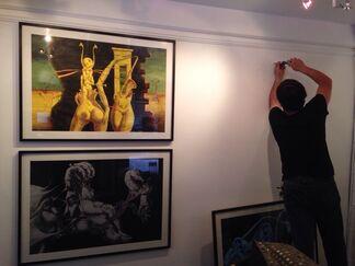 Yasser Rostom - About the Underworld, installation view