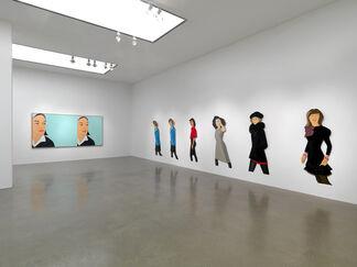 Alex Katz: 70s / 80s / 90s, installation view