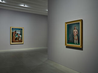 Carlo Carrà, Metaphysical Spaces, installation view