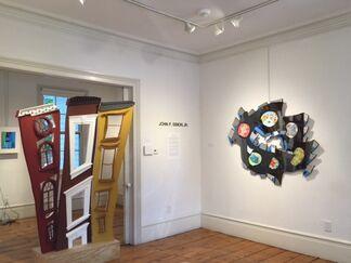 John F. Simon, Jr.: The Ever Present Sun, installation view