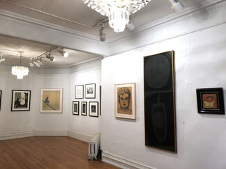 Will Barnet: Paintings, Drawings and Prints, installation view