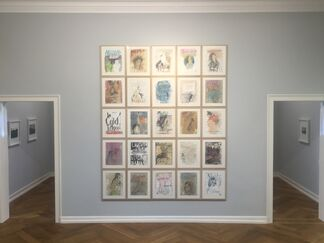 Peter Wüthrich. Geschichten, die das Leben trieb, installation view