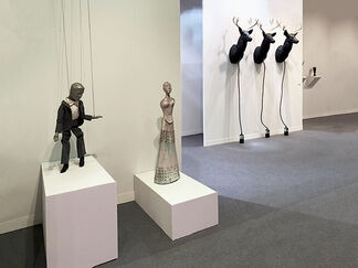 Montrasio Arte / Km0 at The Armory Show 2017, installation view