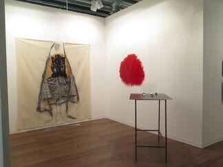 Galerie nächst St. Stephan Rosemarie Schwarzwälder at Art Basel 2014, installation view