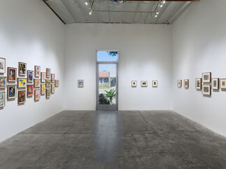 SOMETHING ELSE:  The Collages of Nathan Gluck, installation view