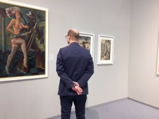 Galerie Valentien at Art Cologne 2017, installation view