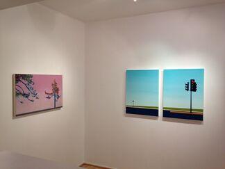 Cherie Benner Davis : L.A. Pastoral   Greg Rose : Tree Stories, installation view