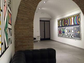 """Esther Mahlangu """"Ex Africa semper aliquid novi"""", installation view"""