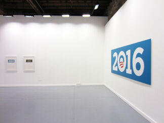 T. M. MacLowe: Everybody Is Happy, installation view