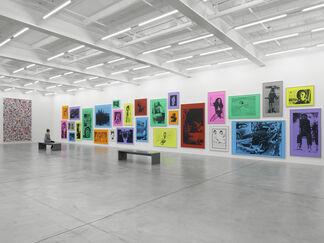 Steven Shearer, Printed Works, installation view