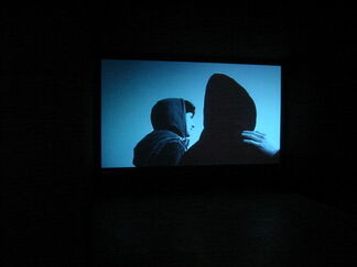 """Muntean/Rosenblum, Guillaume Pinard, and Banks Violette - """"The Ice Age"""", installation view"""
